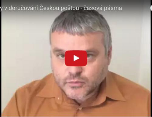 Novinky v doručování Českou poštou – časová pásma